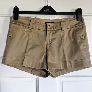 Bebe Shorts with Buttoned Pockets EUC